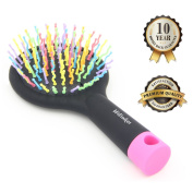 Hilinker Hair Brush - Detangle Hair Easily With No Pain - Good For Wet Or Dry Hair - Adults & Kids