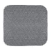 Americare Absorbent Washable Waterproof Seat Protector Pads, Grey, 50cm x 60cm , 331 Gramme