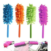 1 x Telescoping Microfiber Duster Extendable Cleaning Dust Home Office Car Tool New