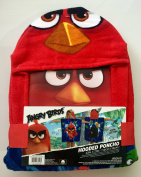 Angry Birds Hooded Poncho Towel