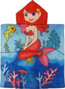 Mermaid Hooded Poncho Bath & Beach Towel