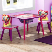 Delta Children Table and Chair Set With Storage, Nick Jr. PAW Patrol/Skye & Everest