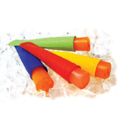 NUOLUX Silicone Push Up Ice Lolly Pop Ice Cream Makers Moulds - 7 Colours