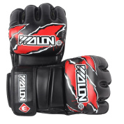 Cheerwing Boxing Gloves MMA UFC Sparring Grappling Fight Punch Mitts PU Leather Training Gloves