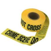 """crime scene do not cross"" barricade movie prop tape ~ 15m LONG!"