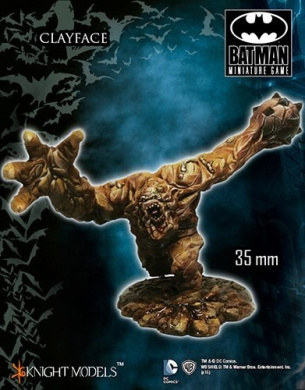 Batman Miniature Game Clayface