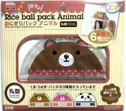 Rice ball pack animal, 6 sheets [ 3 patterns x 2 sheets ] [Ship From Japan]