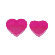 pink heart mini food compartment for Bento Box Lunch Box