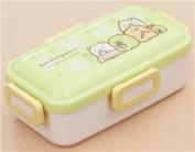 cute green white Sumikkogurashi shy animal clover Bento Box from Japan