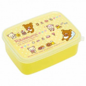 cute yellow sweet treat Rilakkuma bear Bento Box lunch box