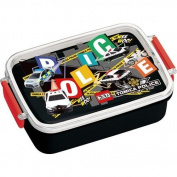 black police car Bento Box Lunch Box by Skater from Japan