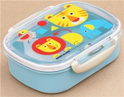 blue cute animal lion Bento Box Lunch Box from Japan