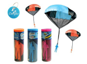 Caryko Kids Hand Throw Parachute Toy - Tangle Free (Colours May Vary) , Set of 3