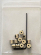 600 Locking Pin Keepers For Hat or Lapel Pins - 50 Dozen