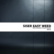 Siser Easy Weed Heat-Transfer Vinyl Multi-Pack 3 Sheets Black 30cm x 30cm for Vinyl Cutters