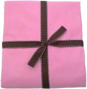 MamaDoo Kids MamaDoo Kids Zip-n-Grow Sheet, Pink Lemonade