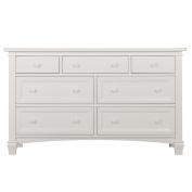 Evolur Fairbanks Double Dresser, Winter White