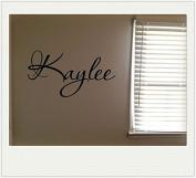 Kaylee Girls Room Name Nursery Baby Kids Pretty Vinyl Wall Quote Sticker