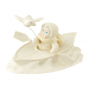 Snowbabies Department 56 Classics Riding Rough Waters together Figurine, 11cm