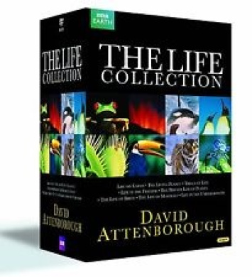 The David Attenborough 90th Birthday Collection (Galapagos/Kingdom of Plants/Rise of Animals/Natural History Museum Alive /Micro
