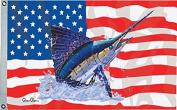 Taylor Made Products Carey Chen US/Sailfish Flag