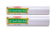 Melissa & Doug Tabletop Easel Paper Roll (30cm x 23m) - 2-Pack