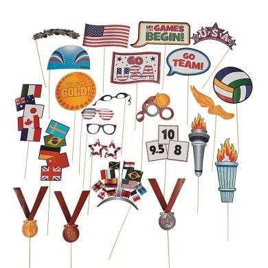 International Games Stick Costume Props