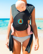 Buboose Baby Carrier by Sling Things - Aqua Sling