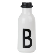 Design Letters AJ Water Bottle with letter - B