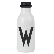 Design Letters AJ Water Bottle with letter - W