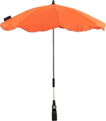 Baby's cotton parasol for buggy Adjustable/Detachable Clan Orange