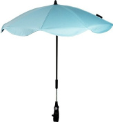 Baby's Light Blue Cotton Parasol For Buggy Adjustable/Detachable Clan