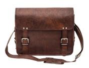 Porterbello - 'Brixton' Large Handcrafted Leather Messenger Bag