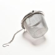 Reusable Stainless Mesh Herbal Ball Tea Spice Strainer