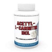Acetylcarnitine HCL 1000 mg each capsule 120 Capsules high bioavailability Vita World German Pharmacy