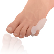 Dr. Frederick's Original Tailor's Bunion Shield Spacers - 4 Bunionette Pads With Spacer - Fast Pain Relief - Wear With Shoes