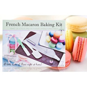 FRENCH MACARON BAKING KIT 6 PIECE SET WITH MAT