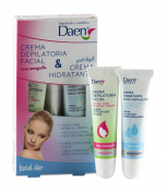 Daen Rosehip Facial Hair Removal and Post Moisturising Cream - Pack of 2