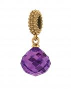 Endless Jewellery Women's Amethyst Mysterious Drop Charm 3801-1