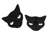 cat collar pin brooches