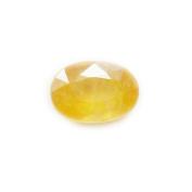55Carat 2.5 Ratti 2.25 Ct Oval Shape Natural Yellow Sapphire Pukhraj Loose Gemstone For Ring & Pendant