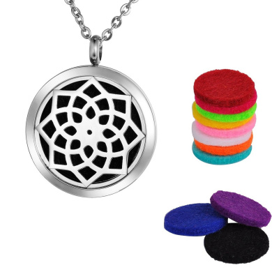 Aromatherapy Oil Diffuser Necklace