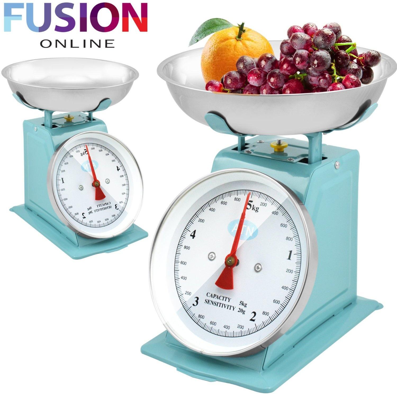 Retro Kitchen Scales Blue Kitchen: Buy Online from Fishpond.com.au