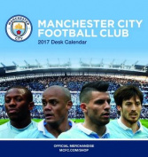 Manchester City Official 2017 Desk Easel Calendar