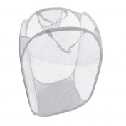 JJOnlineStore - UK Foldable Pop Up Mesh Washing Laundry Basket Bag Bin Hamper Toy Tidy Storage Organiser Organiser
