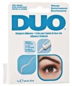 White/Clear DUO Eyelash Adhesive Waterproof Glue 7g .740ml