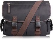AB Earth Vintage Leather Canvas Nylon School bag Messenger Bag Briefcase, M707