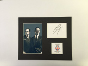LIMITED EDITION TOM HARDY KRAYS SIGNED DISPLAY PRINTED AUTOGRAPH AUTOGRAPH AUTOGRAF AUTOGRAM SIGNIERT SIGNATURE MOUNT FRAME