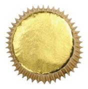 Gold Foil Baking Cases - 45 pack - 50mm base