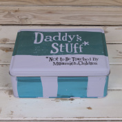 The Bright Side Storage Tin - Daddy's Stuff*